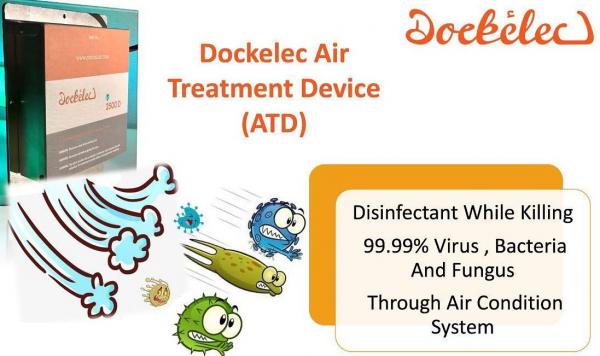 Air quality monitoring device in Dubai